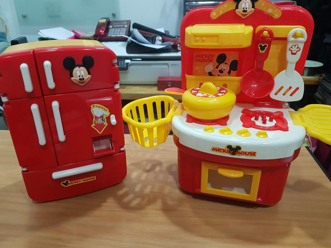 Mickey Mouse Toy Kitchen Toys Games Others On Carousell