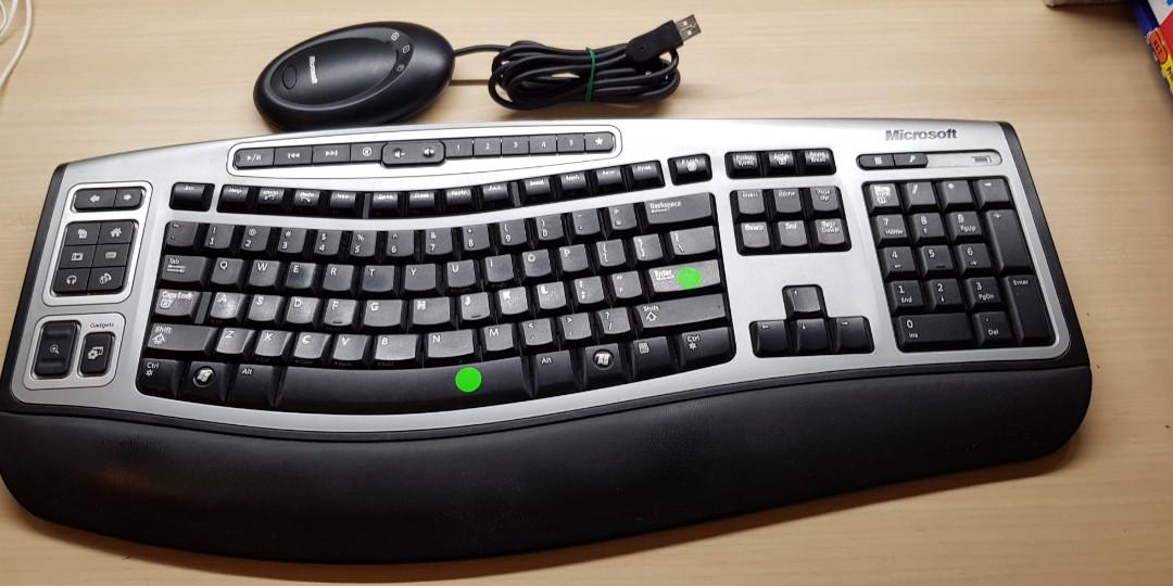 23f119be457 Microsoft wireless keyboard, Electronics, Computer Parts ...