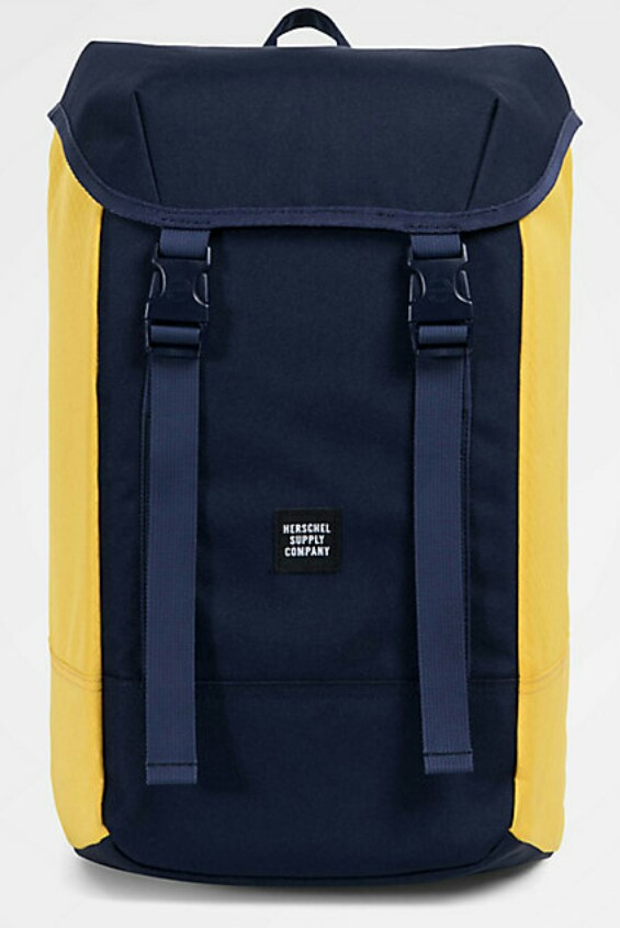 c1ae535ba10 Authentic 24L Herschel Supply Co Iona Peacoat Navy Blue and Cyber ...