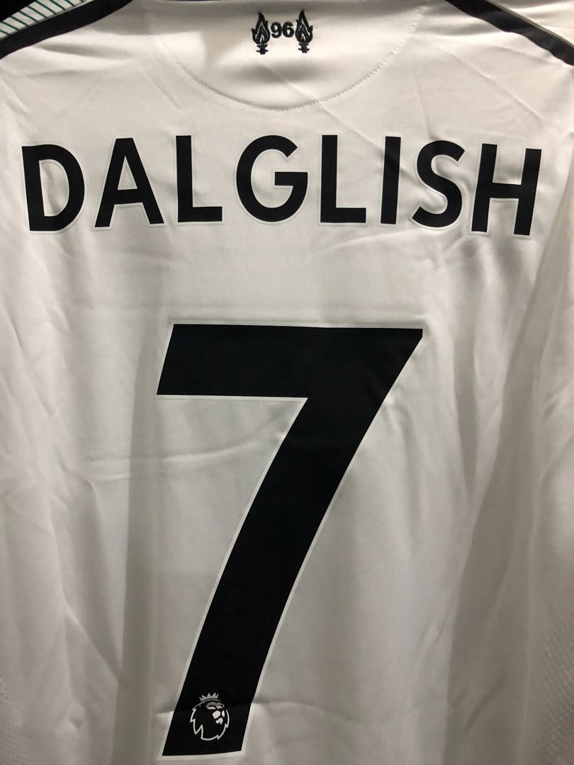 7d401e034 NEW Liverpool 2017 2018 Away Jersey ( 7 Dalglish)