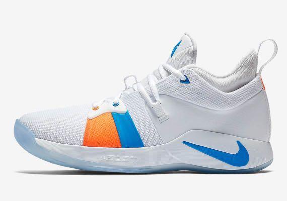 """newest d3cc1 4673d Nike Paul George 2 """"White/Photo Blue"""", Men's Fashion ..."""