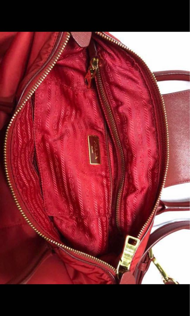 7db72f865d76 Original Prada saffian, Luxury, Bags & Wallets, Handbags on Carousell