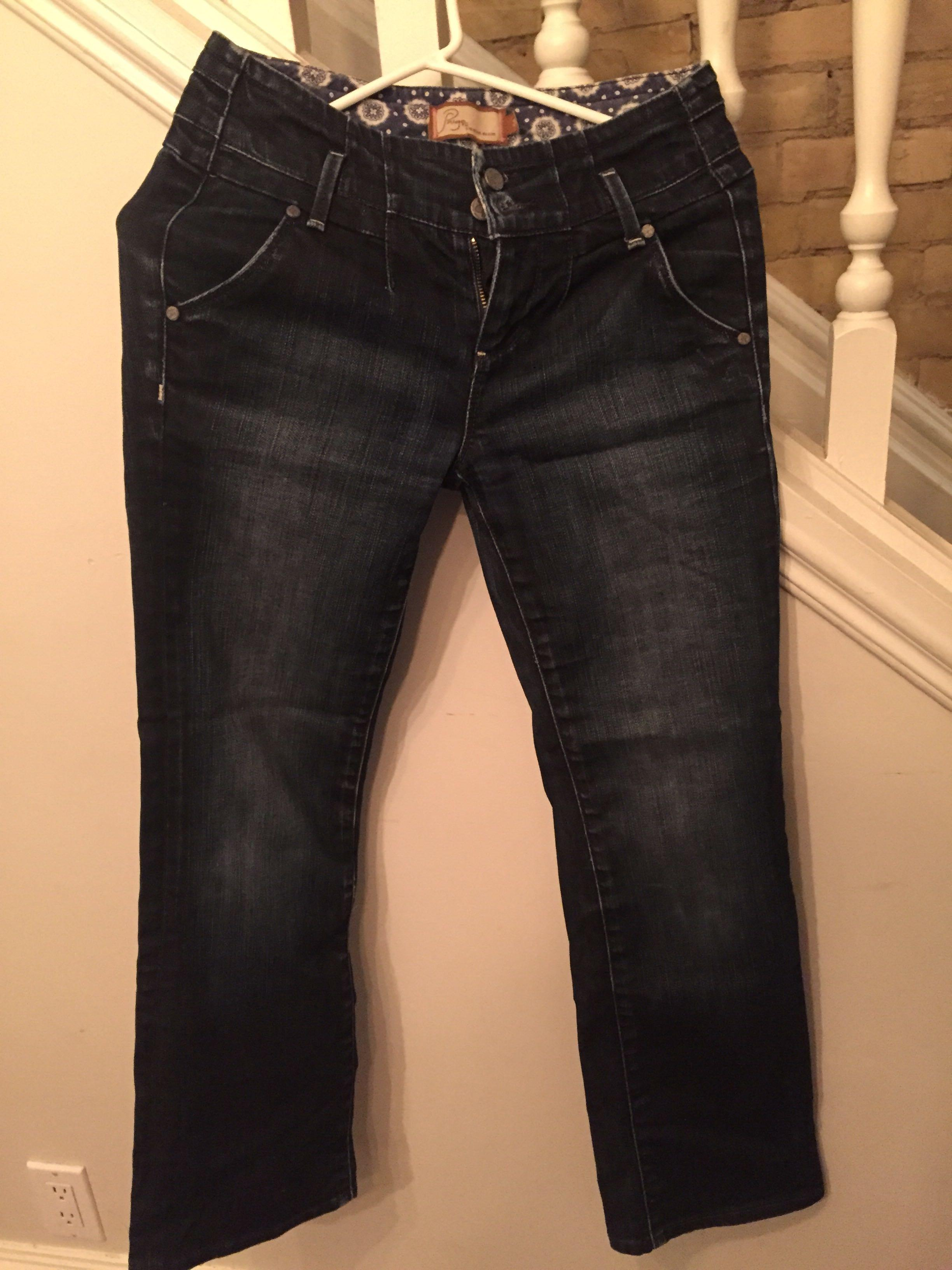 Paige premium denim bootcut jeans size 25 worth over 250$!