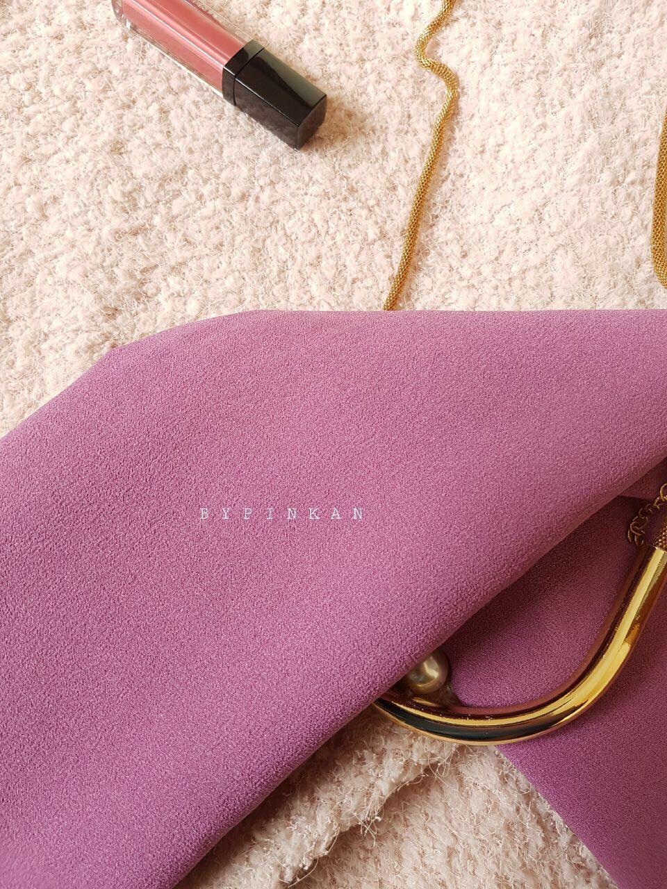 Pashmina Instant Jumbo Purple