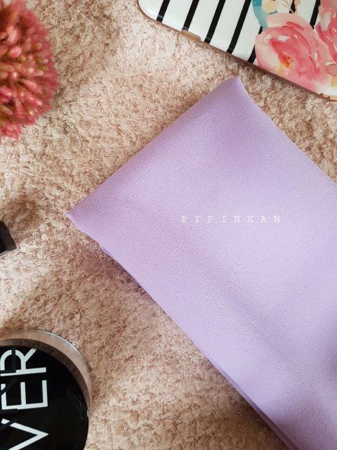 Pashmina Instant Jumbo Soft Purple