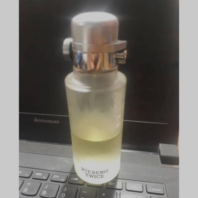 Preloved parfume iceberg twice for men