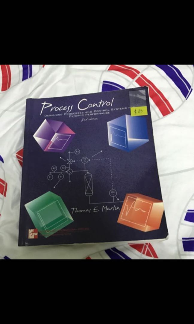 Process Control Books Stationery Textbooks Tertiary On Carousell