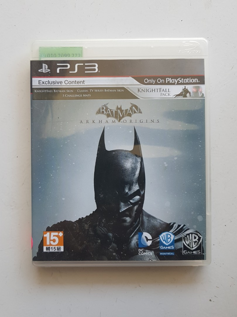 Ps3 Batman Arkham Origins Game 3be77fe71f3