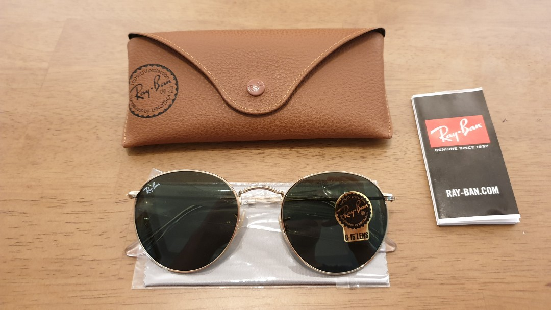 063e08cd8dc Rayban Sunglasses 3447 - 001 (size 53)