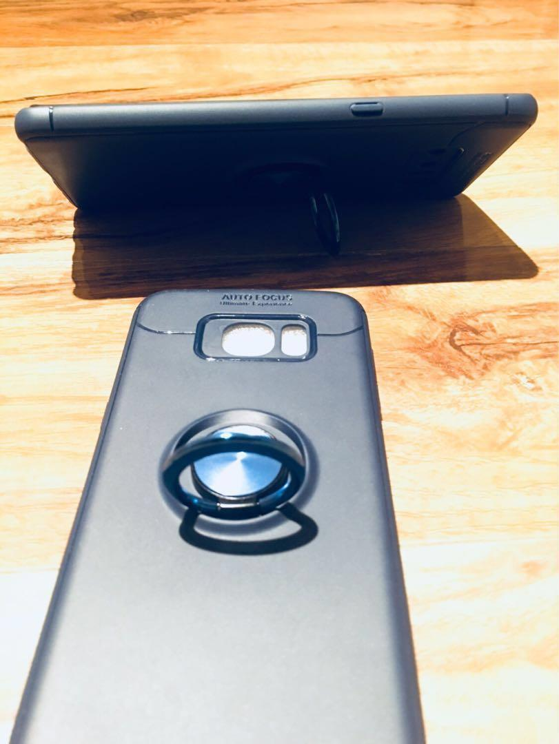 Samsung phone case with ring