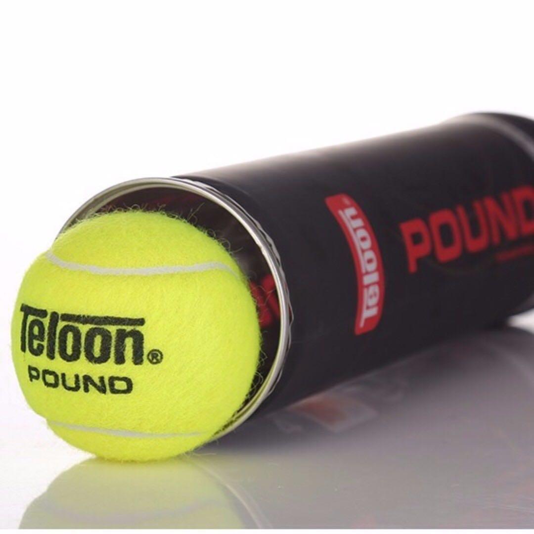TELOON TENNIS BALLS Tournament Ball - POUND P3 (24 Cans Carton ... 2d11d9d5896d7