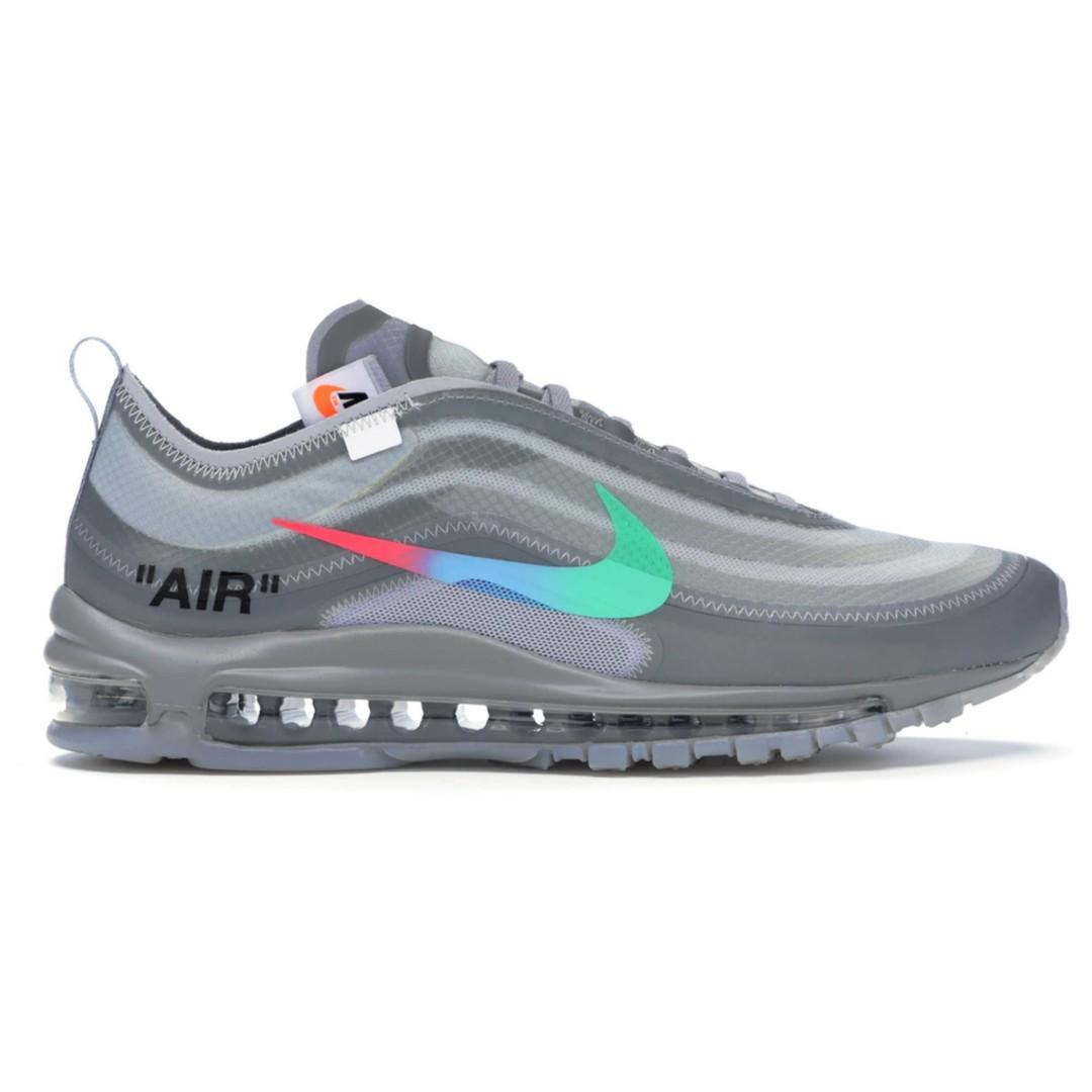 3d5e086df THE 10  Nike Air Max 97 Off-White Menta x Virgil Abloh AJ4585-101 ...