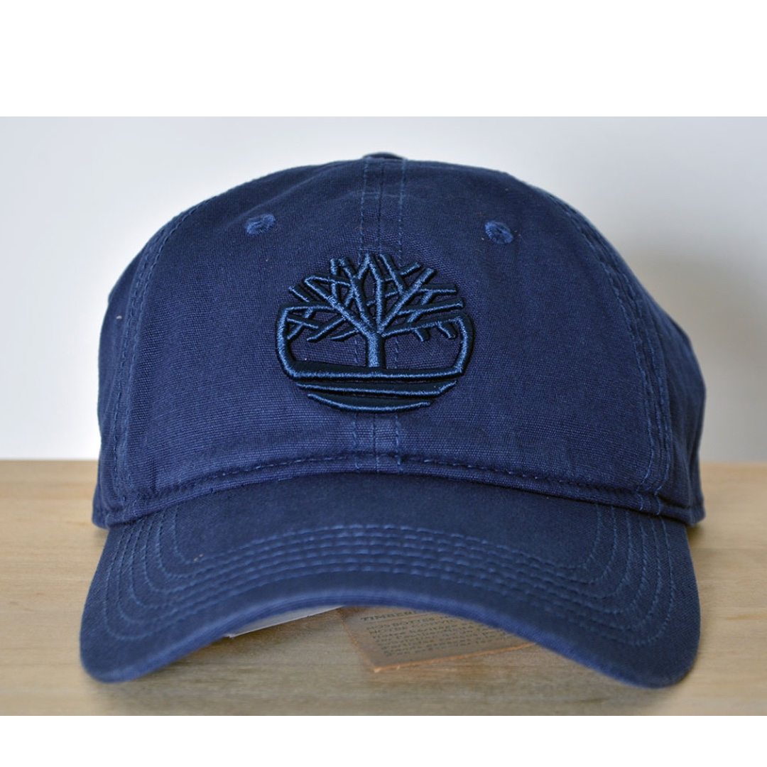 49a6b1da1 Timberland Classic Tree Logo Cap - Navy Blue, Men's Fashion ...