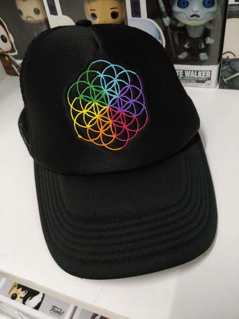 cd6b8b93dce Coldplay merchandise A Head Full of Dreams tour Cap, Men's Fashion,  Accessories, Caps & Hats on Carousell