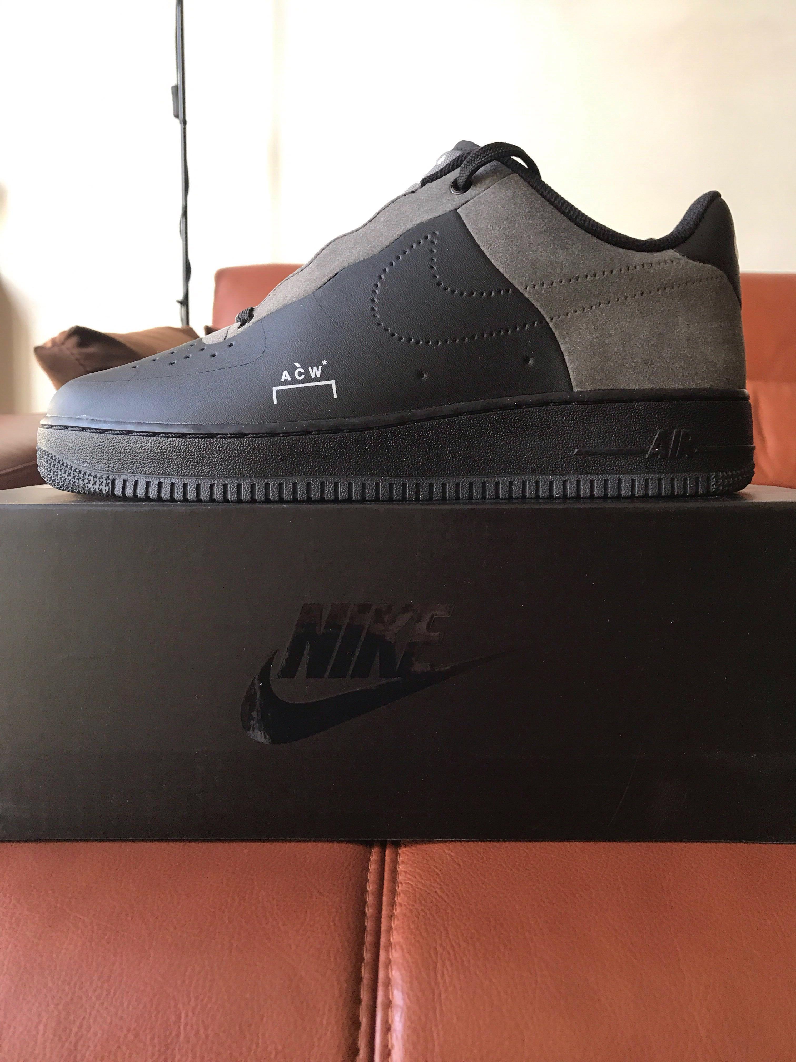 timeless design 333f8 46bfa UK 9 / US 10 A-COLD-WALL* Nike x ACW AF1 Air Force 1 Low ...