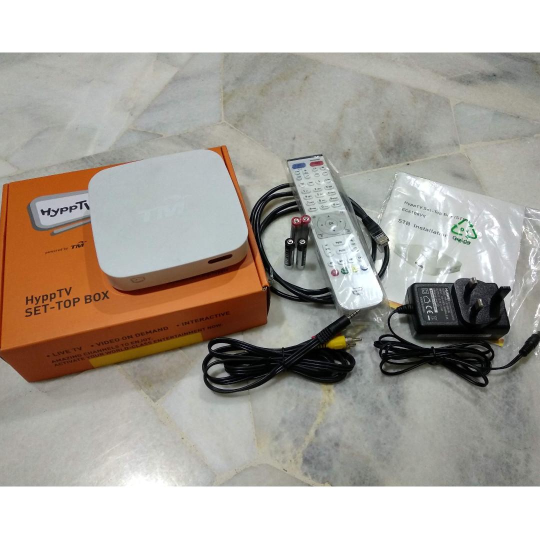 Unifi HyppTV IPTV Box (EC6108V8)