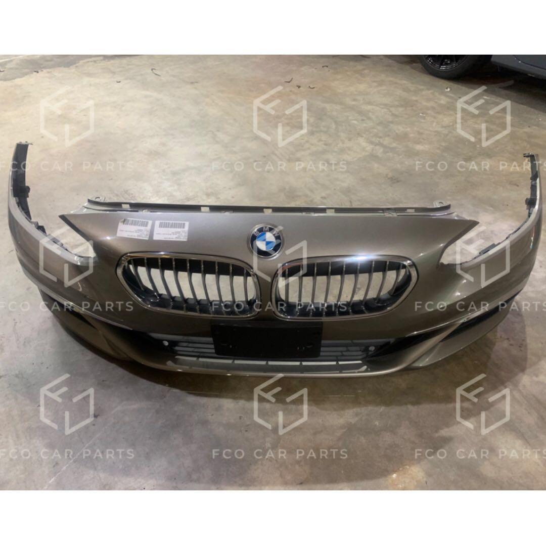 Used Genuine BMW (F52) Front Bumper with Parking Sensors + Front Grilles +  BMW Emblem 51110050600