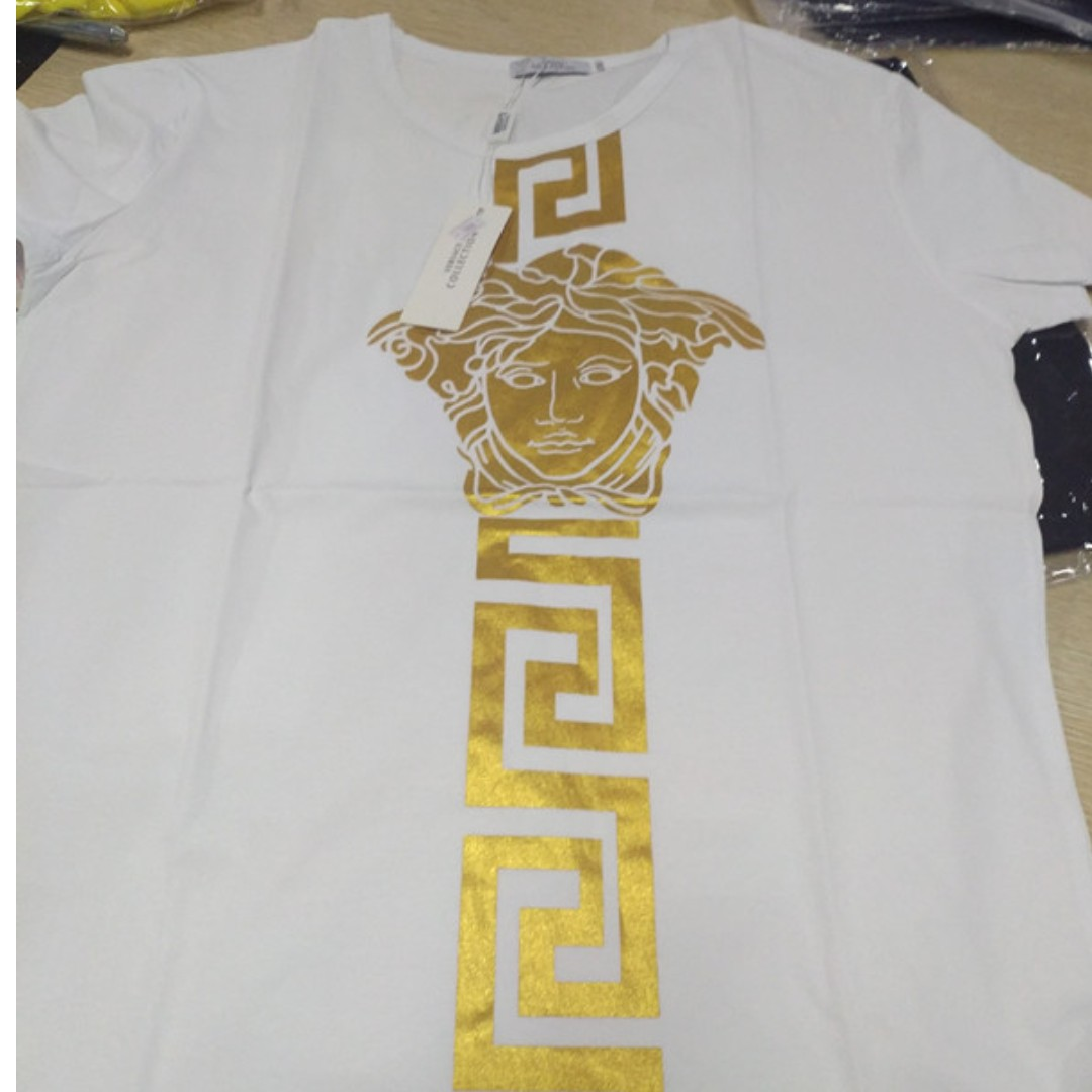 Versace Tee, Men's Fashion, Clothes, Tops on Carousell