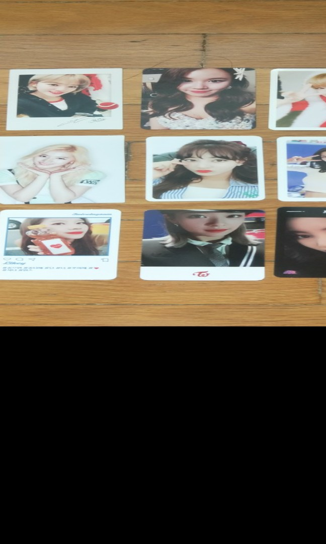 WTS TWICE PC MASTERLIST, Entertainment, K-Wave on Carousell