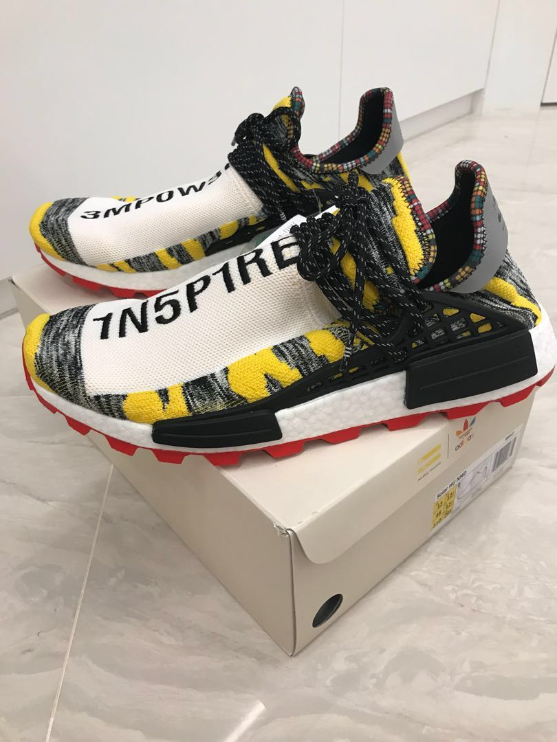 c31ad2686 WTS WTT Adidas NMD Hu Pharrell Solar Pack Red- US13