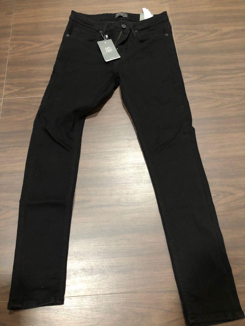 b55af3fb Zara Mens Black Skinny Jeans Waist 30, Men's Fashion, Clothes ...