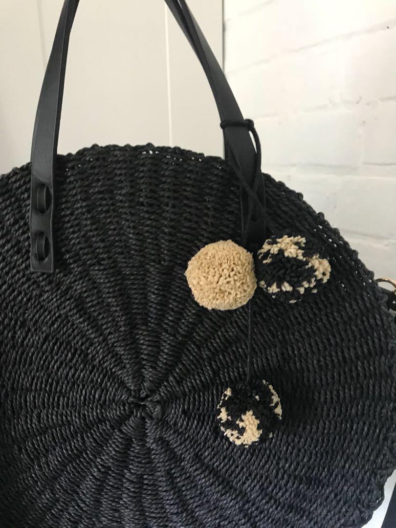 Zara woven bag