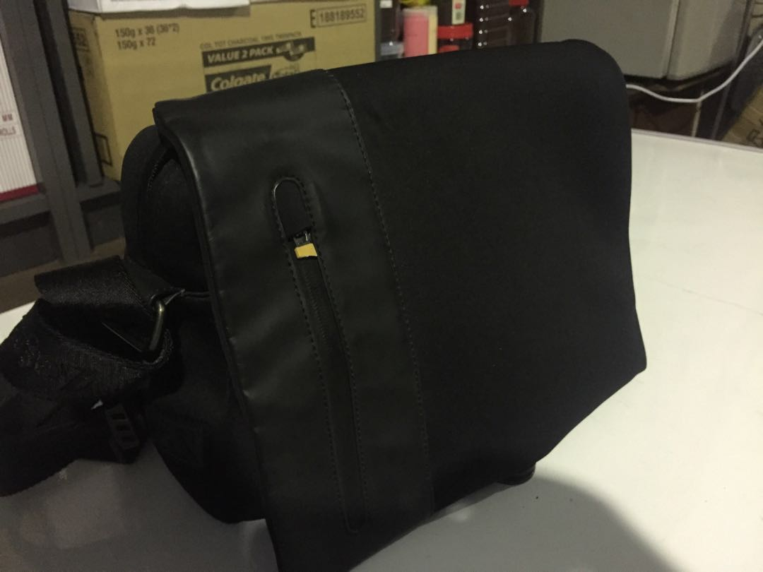 deff3cf2f4f4 Zegna sport cross body bag, Luxury, Bags & Wallets, Others on Carousell