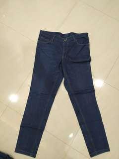 Jeans bahan tebal size 35-36