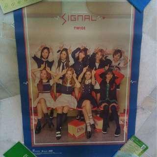 [WTS] Official Twice Signal Poster