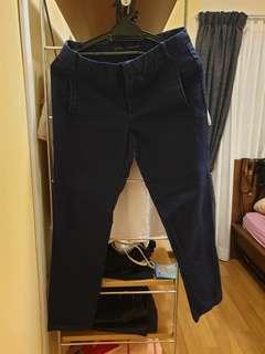 Blue Office Pants #Jan55