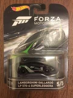 Hot Wheels 火辣跑車 Forza Motorsport Lamborghini Gallardo LP 570-4 Superleggera