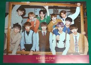 Wanna One NWY - One ver. Poster