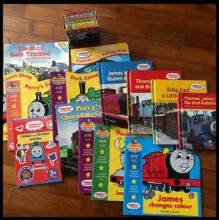 Assorted Thomas and Friends books