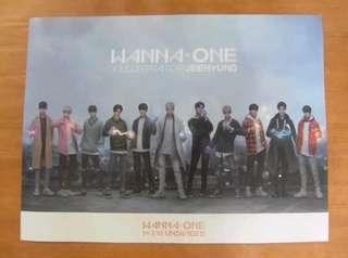 Wanna One Undivided Art ver. Poster