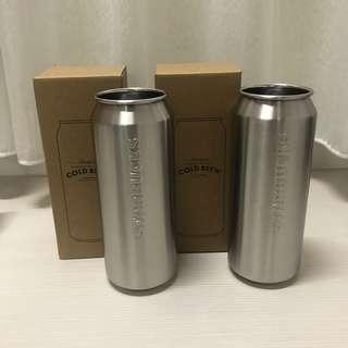 Starbucks  cold brew單層不鏽鋼杯