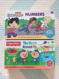 Fisher Price Flash Cards (2sets)