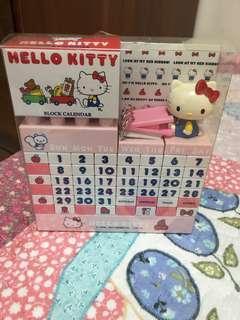 🚚 Hello kitty拼圖式桌曆
