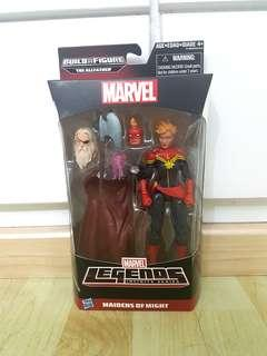 Marvel Legends Captain Marvel Odin BAF Wave Brand New and Sealed Upcoming Movie