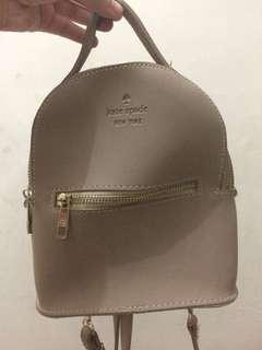 Kate Spade backpack and shoulder bag