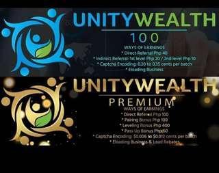 Unitywealth Starter Activation Codes