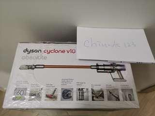 現貨Dyson v10 吸塵機 英版三腳