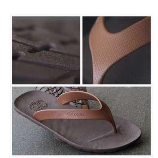 CAMOU Flipflops Chocolate Sandal Jepit Pria Casual Nyaman Dipakai 39-44