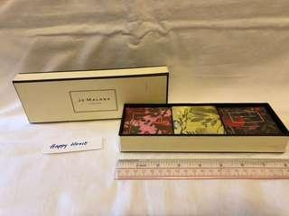 Jo Malone London deluxe soap set 英國名牌倫沐浴香皂禮盒裝三個 抽獎禮物