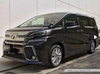 Brand New Alphard/Vellfire (High Spec)