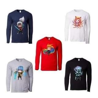 🚚 Custom Printed T-Shirts (Long Sleeve) #PrintOnDemand