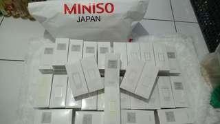 Parfum edt miniso japan ori box + segel