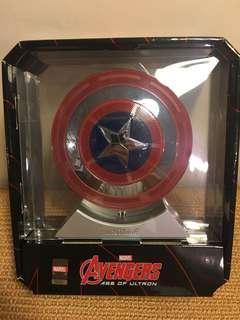 Marvel 原裝美國隊長行動電源/喇叭