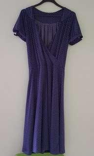 Polka dot Long dress