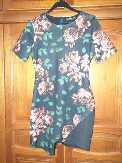Flowery Bodycon Dress from Something Borrowed