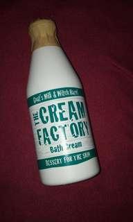 Bath cream ( like liquid bath soap )